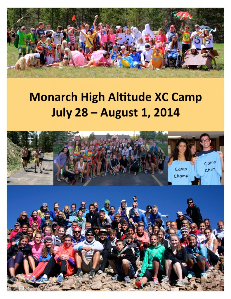 MOHI XC Camp 2014